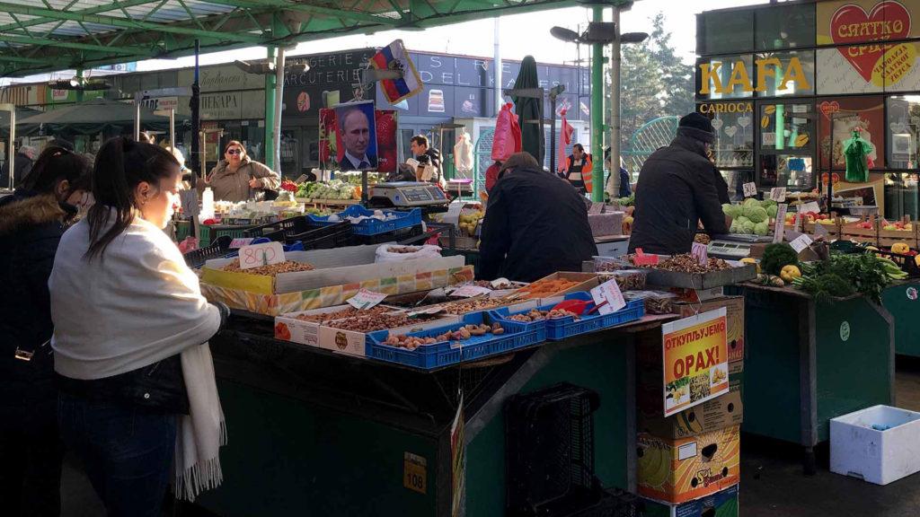 zeleni venac market Paul Rochford