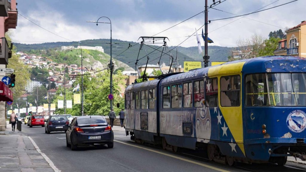 Sarajevo, capital of Bosnia and Herzegovina. Photo: Paul Rochford